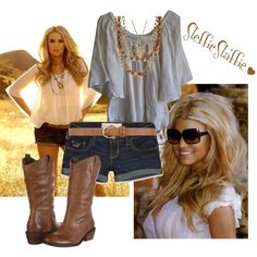 """""""Summer in the South"""" by steffiestaffie on Polyvore"""