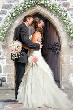 Cars Discover Trademark Fine Art Wedding Kiss Canvas Art by The Macneil Studio Elena&Holger Wedding Kiss, Wedding Art, Wedding Images, Wedding Pictures, Wedding Sparklers, Wedding Flowers, Artist Canvas, Canvas Art, Creation Photo