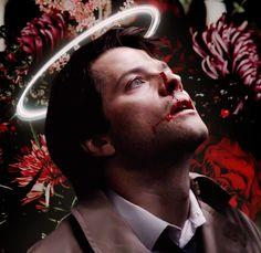 Supernatural Fan Art, Castiel, Dean And Cas, Angels And Demons, Super Natural, Misha Collins, Dean Winchester, Superwholock, Shotgun