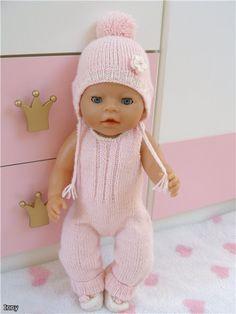 club.osinka.ru picture-1668142?p=5395877 Barbie Knitting Patterns, Knitting Dolls Clothes, Crochet Baby Clothes, Knitted Dolls, Doll Clothes Patterns, Doll Patterns, Girl Dolls, Baby Dolls, Baby Born Clothes