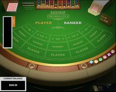 Baccarat Pragmatic Play - http://www.777free-slots.com/free-baccarat-pragmatic-play-online/