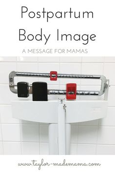A message of encouragement for new moms struggling with confidence in their postpartum body.