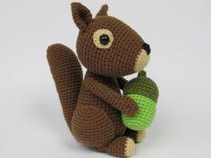 Eichhörnchen Dinky Häkelanleitung