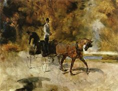 Henri de Toulouse-Lautrec - Dog Cart