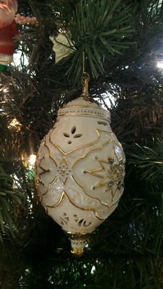 2012 Annual Lenox Ornament. The 21 st in my collection.