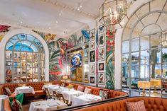 Gallery - The Ivy in the Lanes, Brighton Brighton Bars, Brighton England, Brighton And Hove, Brighton Food, Ivy Restaurant, Restaurant Concept, Turkish Restaurant, Coffee Shop Aesthetic, Maximalist Interior