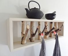 Bring a little piece of the outdoors inside — and hang your hat on it!
