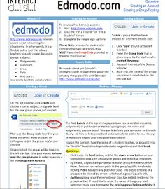 Edmodo cheat sheet for teachers