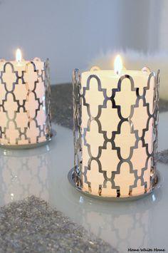 White candles <3 - Home White Home -blog