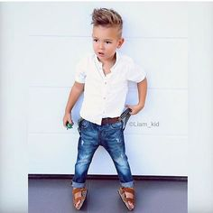 This Cool kids & boys mohawk haircut hairstyle ideas 19 image is part from 60 Awesome Cool Kids and Boys Mohawk Haircut Ideas gallery and article, click read it bellow to see high resolutions quality image and another awesome image ideas. Toddler Boy Fashion, Little Boy Fashion, Toddler Outfits, Baby Boy Outfits, Toddler Boys, Kids Boys, Fashion Kids, Fashion Clothes, Fashion Fashion