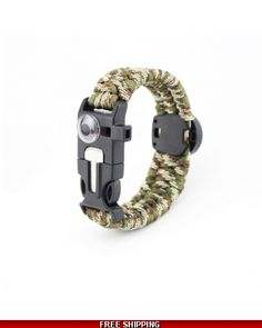 Thermometer Paracord Bracelet 6 in 1
