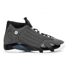 online retailer 2eae9 01bc8 Air Jordan 14 (XIV) Retro Stealth Graphite Grey Black White A14007 Discount Nike  Shoes