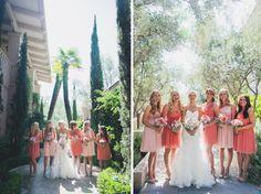 TealePhotography.net  Wedding Bouquet Pink Wedding Pink Bridesmaids dresses  Nashville Wedding Photographer  San Diego Wedding Photographer Rancho Bernardo Inn