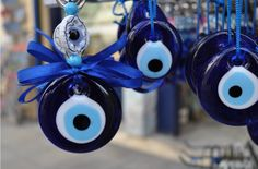 The Greek evil eye, my mother in law brought one back from Greece for us! Love it!