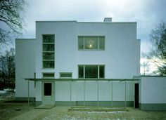 prof. tammekannu villa, tartu, 1932, alvar aalto (renovated 1999-2000)