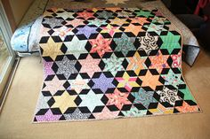 Finished Starbright Quilt by Nela Barrow