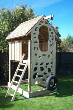 kids forts and playhouses | All forts are supplied as pre made and drilled panels for easy ...