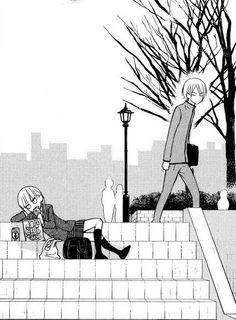 tonari no kaibutsu-kun #shoujo #anime #manga      shizuku and yamaken