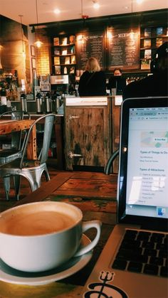 Coffee Shop Aesthetic, Cosy Cafe, College Aesthetic, Visualisation, Study Space, Coffee Cozy, Coffee Time, Study Hard, Coffee And Books