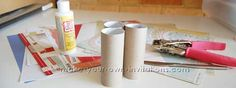 Tutorial how to make a tp roll book!