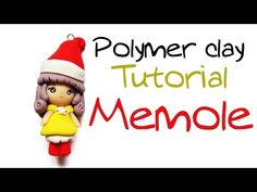 Tutorial Fimo Memole ✿ Polymer clay Tutorial - YouTube