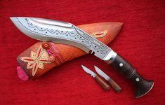 Gurkha Ganjawal Special Sherpa Khukuri Khukri Kukri Knife 8 Inch Full Tang #GanjawalTraditional