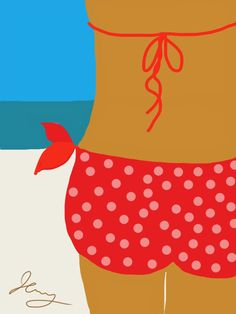 The View by Jenny Taylor copyright 2013 #View #bikini #beach