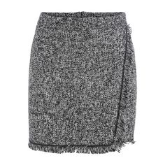SheIn(sheinside) Grey Fringe Bodycon Skirt (47 PEN) ❤ liked on Polyvore featuring skirts, grey, shein, fringe skirt, body con mini skirt, gray mini skirt, mini skirt and bodycon skirt