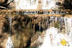 Cachoeira. Trilha da Boca da Onça. Serra da Bodoquena, MS. Imagem: Erik Pzado