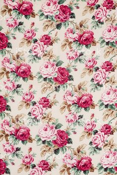 Antique floral fabric Wide royalty-free stock photo