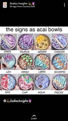 Tbh I've never had an acai bowl but they look hella good - Tbh I've never had an acai bowl but they look hella good Source by jasminheyse - Zodiac Signs Chart, Zodiac Sign Traits, Zodiac Signs Sagittarius, Zodiac Star Signs, My Zodiac Sign, Zodiac Horoscope, Zodiac Facts, Zodiac Memes, Zodiac Characters