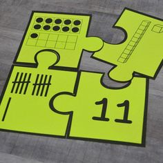 These math number puzzles help kindergarten students instantly recognize numbers 0-20 in a fun way! They can be used in math centers (math stations), small group instruction settings such as guided math, or in tutoring or intervention. While these puzzles were designed for kindergarten, they can provide enrichment for budding preschool students and make a great back to school center for first grade students.