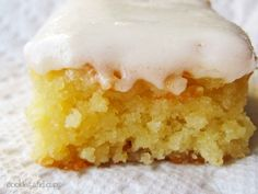 Vanilla Cake: This is a really rich, really moist cake. Would be perfect for tapas