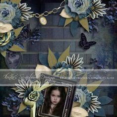 The Dark Side by Ilonkas Scrapbook Designs   [ link ] [ link ] [ link ]   ( cant access my files so had to use this page, wanted to ...