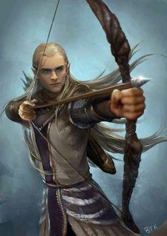 Legolas Archer of the Woodland Realm