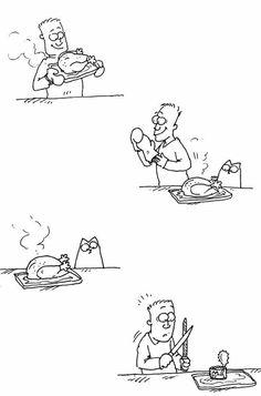 Simon's Cat- always hilarious!