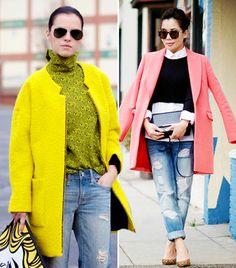 #Coats I like the pink one