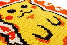Custom Rug on RugThis Felt Ball Rug, Pikachu, Pokemon, Custom Rugs, Kids Rugs, Character, Color, Design, Home Decor