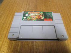 Nintendo Video Game Donkey Kong Country - Super Nintendo snes system game -DKC by FriendsRetro on Etsy