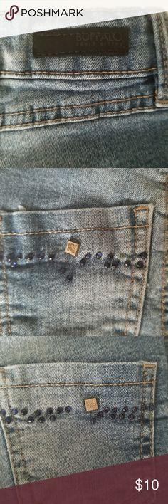 Girls BUFFALO jeans Girls BUFFALO jeans. Size 4T In GUC  Missing a few stones in back pockets, other then that, no stains or rips. Buffalo David Bitton Bottoms Jeans