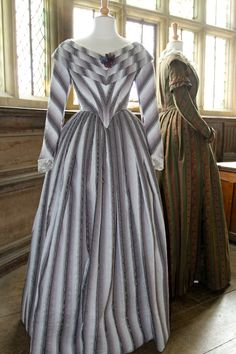 Blanche Ingram Dress the cut of this dress gives it interesting movement. Jane eyre exibition