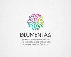 BLUMENTAG Logo Inspiration Gallery | More logos http://blog.logoswish.com/category/logo-inspiration-gallery/ #logo #design #inspiration