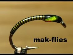 Glo-Brite Holographic Trout Buzzer by mak-flies 2014 - YouTube