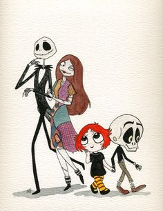 Redheads Heart Skeletons by *FairyKitsch on deviantART