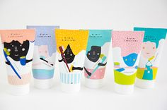kids toothpaste packaging on Behance