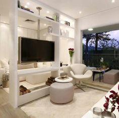 Projeto C Arq Room DividersHome DesignTvsLiving