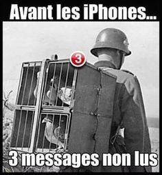 Humour - Les messages avant l'arrivée d'Internet et des téléphones mobiles...