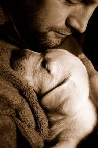so cute! truly man's best friend! <3