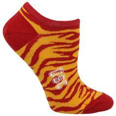 USC Trojans Ladies Zebra Socks!!! The cuuuuutest socks ever!!!!