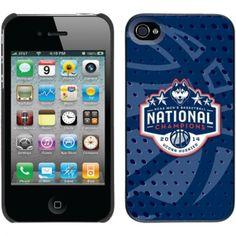 UConn Huskies 2014 NCAA Men's Basketball National Champions iPhone 4 Thinshield